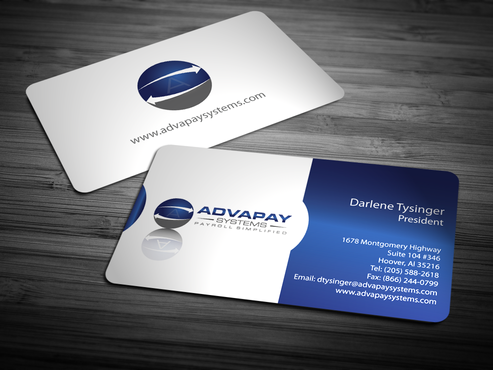 AdvaPay Systems Business Cards and Stationery  Draft # 213 by jpgart92