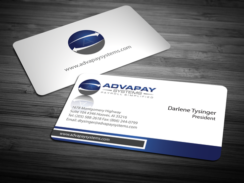 AdvaPay Systems Business Cards and Stationery  Draft # 214 by jpgart92