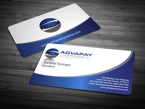 AdvaPay Systems Business Cards and Stationery  Draft # 215 by jpgart92