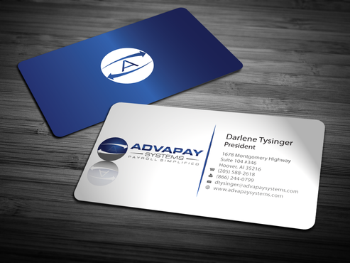 AdvaPay Systems Business Cards and Stationery  Draft # 216 by jpgart92