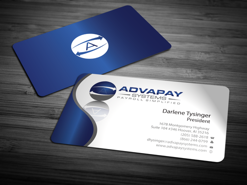 AdvaPay Systems Business Cards and Stationery  Draft # 217 by jpgart92