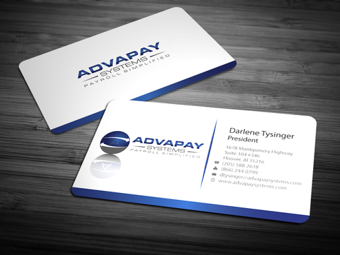 AdvaPay Systems Business Cards and Stationery  Draft # 218 by jpgart92