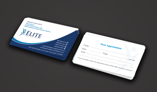 Elite Weight Management MD Business Cards and Stationery  Draft # 288 by einsanimation