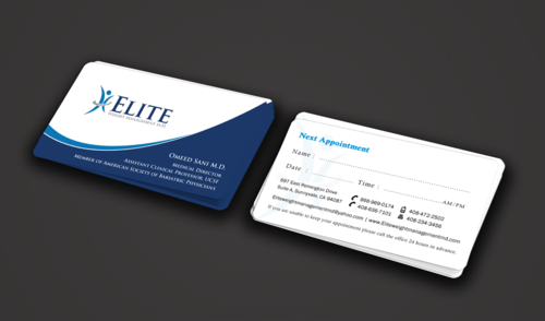 Elite Weight Management MD Business Cards and Stationery  Draft # 289 by einsanimation