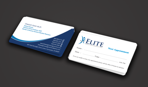 Elite Weight Management MD Business Cards and Stationery  Draft # 290 by einsanimation