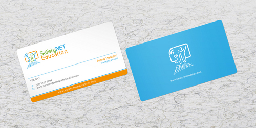 SafetyNET Education Business Cards and Stationery  Draft # 189 by sevensky