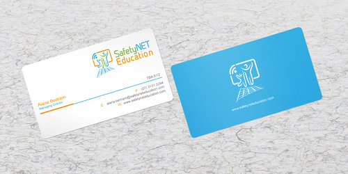 SafetyNET Education Business Cards and Stationery  Draft # 190 by sevensky