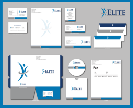 Elite Weight Management MD Business Cards and Stationery  Draft # 306 by jpgart92