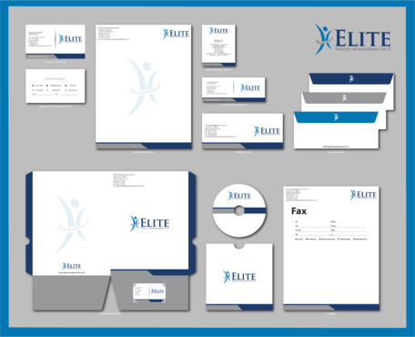 Elite Weight Management MD Business Cards and Stationery  Draft # 307 by jpgart92