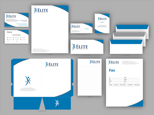 Elite Weight Management MD Business Cards and Stationery  Draft # 315 by jpgart92