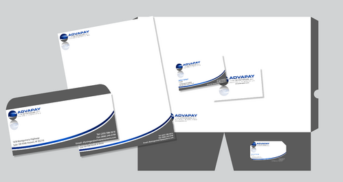 AdvaPay Systems Business Cards and Stationery  Draft # 227 by jpgart92