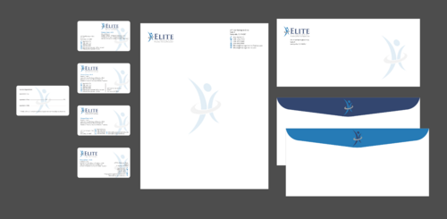 Elite Weight Management MD Business Cards and Stationery  Draft # 319 by Xpert
