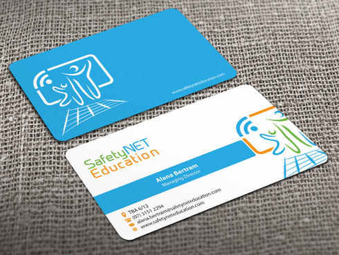 SafetyNET Education Business Cards and Stationery  Draft # 204 by Xpert