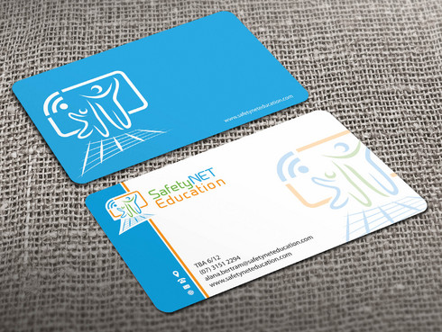 SafetyNET Education Business Cards and Stationery  Draft # 206 by Xpert