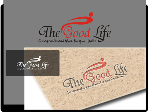 The Good Life A Logo, Monogram, or Icon  Draft # 75 by irdiya