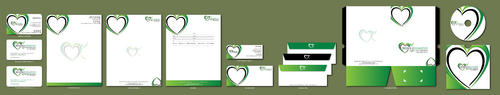 Wholehearted Wellness Massage Business Cards and Stationery  Draft # 164 by jpgart92