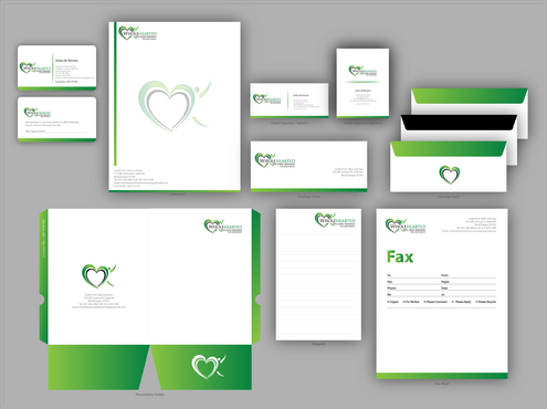 Wholehearted Wellness Massage Business Cards and Stationery  Draft # 179 by jpgart92