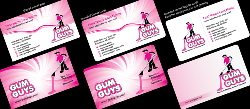 Gum Guys Business Cards and Stationery  Draft # 351 by Achiver