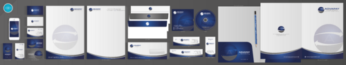 AdvaPay Systems Business Cards and Stationery  Draft # 252 by aheadpoint
