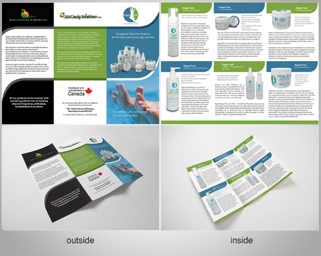 Happi-Feet Product Brochure Marketing collateral  Draft # 9 by sikamcoy222