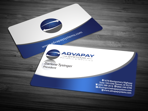 AdvaPay Systems Business Cards and Stationery Winning Design by jpgart92
