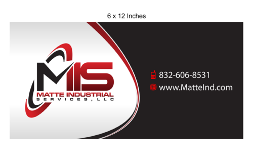Matte Industrial Services, LLC Marketing collateral  Draft # 11 by Kaiza
