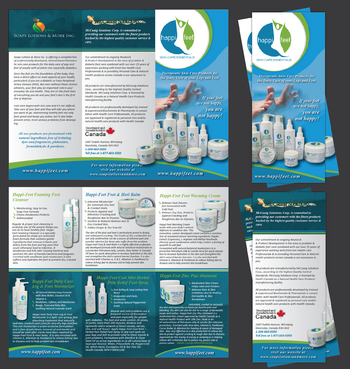 Happi-Feet Product Brochure Marketing collateral  Draft # 20 by Achiver