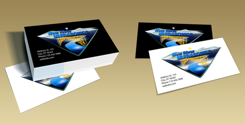 New River Ultrasonics Business Cards and Stationery  Draft # 3 by LightStream