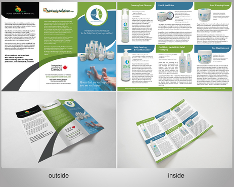 Happi-Feet Product Brochure Marketing collateral  Draft # 22 by sikamcoy222