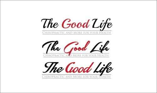 The Good Life A Logo, Monogram, or Icon  Draft # 113 by WORlD