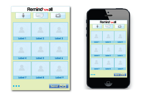 Remindem App Other  Draft # 6 by GDDESIGN