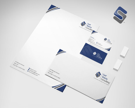 Curt Stacey Consulting, An Information Technology Services Company Business Cards and Stationery  Draft # 150 by sevensky