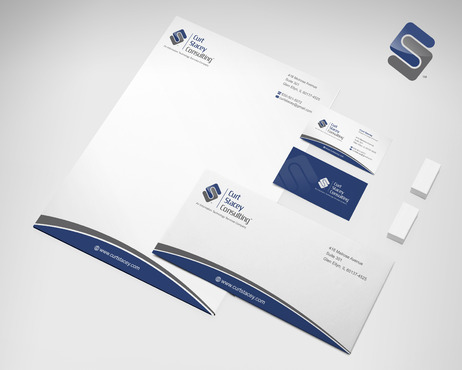 Curt Stacey Consulting, An Information Technology Services Company Business Cards and Stationery  Draft # 152 by sevensky