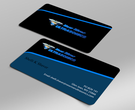 New River Ultrasonics Business Cards and Stationery  Draft # 127 by jpgart92