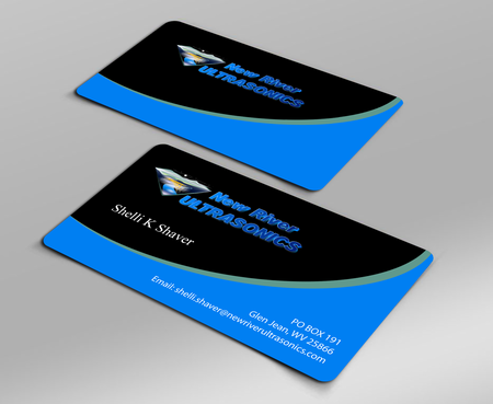 New River Ultrasonics Business Cards and Stationery  Draft # 126 by jpgart92