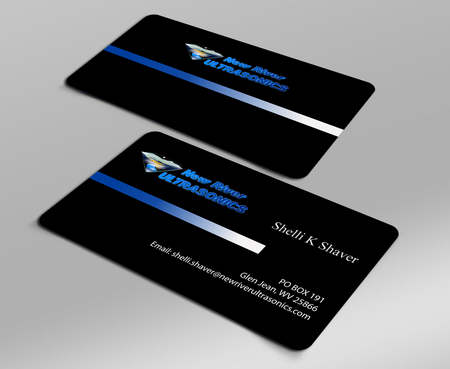 New River Ultrasonics Business Cards and Stationery  Draft # 128 by jpgart92