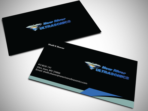 New River Ultrasonics Business Cards and Stationery  Draft # 130 by jpgart92