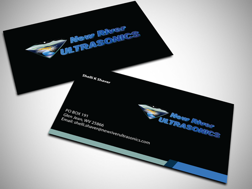 New River Ultrasonics Business Cards and Stationery  Draft # 129 by jpgart92