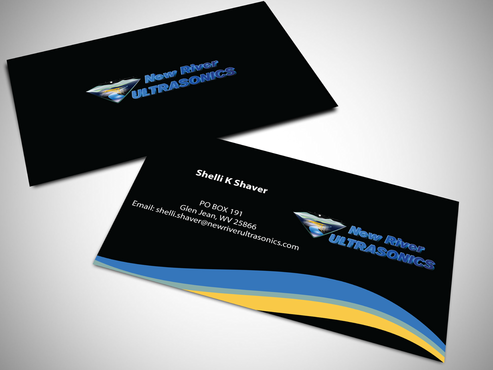 New River Ultrasonics Business Cards and Stationery  Draft # 132 by jpgart92