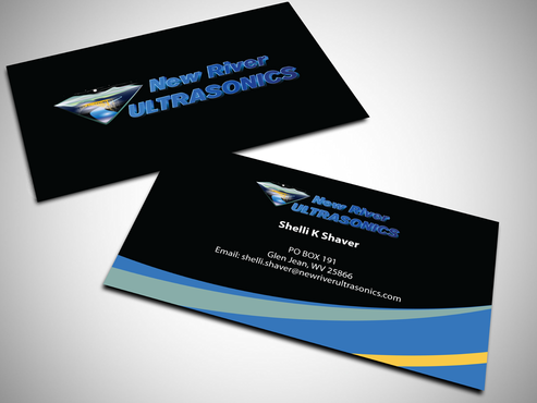 New River Ultrasonics Business Cards and Stationery  Draft # 133 by jpgart92