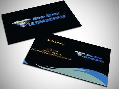 New River Ultrasonics Business Cards and Stationery  Draft # 135 by jpgart92