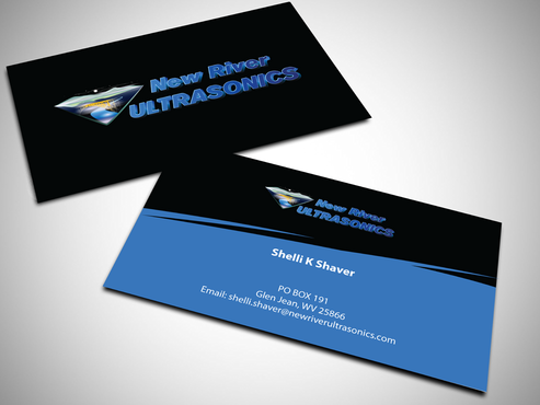 New River Ultrasonics Business Cards and Stationery  Draft # 136 by jpgart92