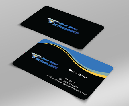 New River Ultrasonics Business Cards and Stationery  Draft # 141 by jpgart92