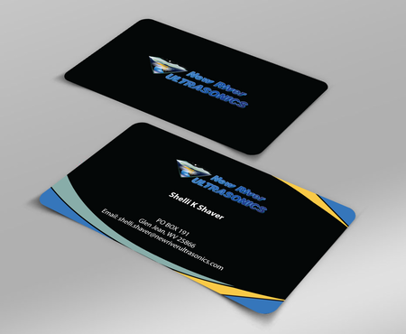 New River Ultrasonics Business Cards and Stationery  Draft # 139 by jpgart92