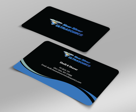 New River Ultrasonics Business Cards and Stationery  Draft # 140 by jpgart92