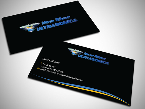 New River Ultrasonics Business Cards and Stationery  Draft # 142 by jpgart92