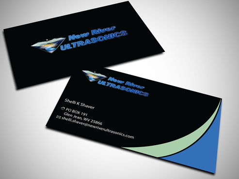 New River Ultrasonics Business Cards and Stationery  Draft # 143 by jpgart92