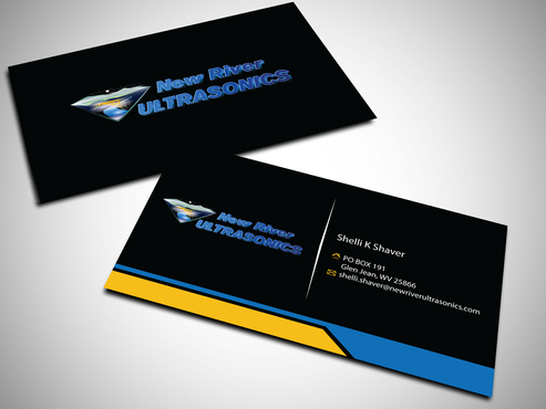 New River Ultrasonics Business Cards and Stationery  Draft # 144 by jpgart92