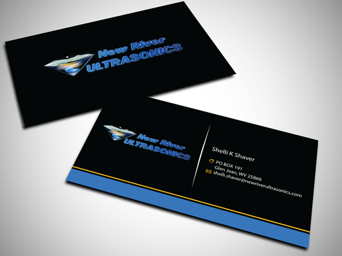 New River Ultrasonics Business Cards and Stationery  Draft # 145 by jpgart92