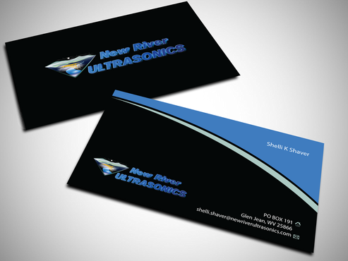 New River Ultrasonics Business Cards and Stationery  Draft # 148 by jpgart92
